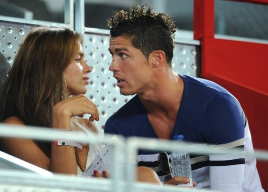 MADRID  SPAIN   AUGUST 22  Cristiano Ronaldo  R  Of Real Madrid Chats