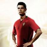 Cristiano Ronaldo junto con el medio ambiente