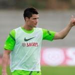 Ronaldo dice estar a 10 puntos para la Eurocopa 2012