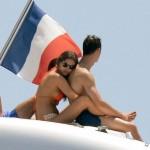 Cristiano se relaja en playas francesas con su hijo y su novia, Irina Shayk
