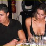 EXCLUSIVE... Couple Cristiano Ronaldo and Irina Shayk Have Dinner After Glamour Awards