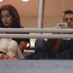 Cristiano Ronaldo e Irina Shayk distantes en el Trofeo Santiago Bernabéu
