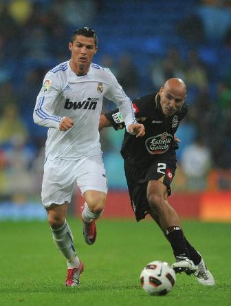 Cristiano frente al Deportivo