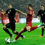 Amargo empate en el  partido número 100 de Cristiano Ronaldo con Portugal