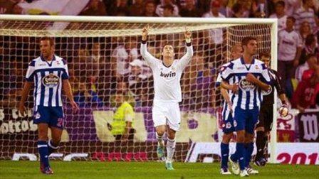 Cristiano dedica su primer gol ante el Deportivo a Alonso Ezquerra