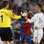 Van der Sar asegura: sin duda Cristiano Ronaldo es tan bueno como Messi