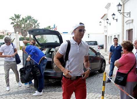 Cristiano Ronaldo y Pepe llegan a Portugal lesionados