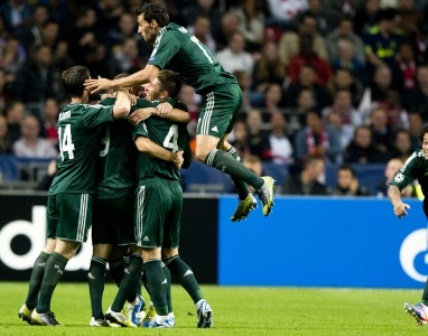 Cristiano logra un Hat Trick en goleada al Ajax 4-1