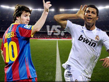 Cristiano y Messi un espectaculo de campeones en el clasico