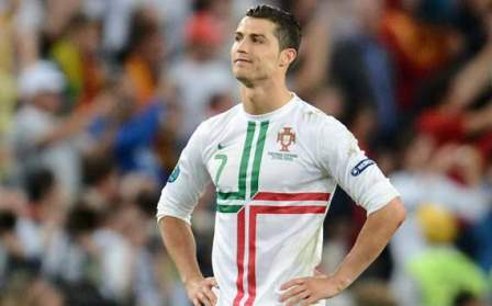 cristiano ronaldo titular en el partido portugal vs rusia