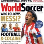 portada de la revista world soccer