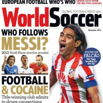 portada de la revista world soccer