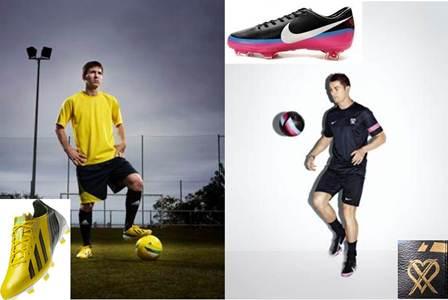 nuevas botas de cristiano ronaldo y messi