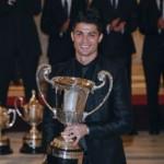 Cristiano Ronaldo recibe premio como el Mejor Deportista Iberoamericano