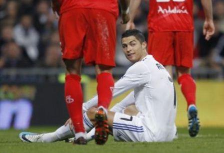 cristiano ronaldo intimida al manchester united con un hattrick ante el sevilla