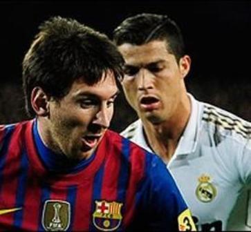 Cristiano Ronaldo visita a Messi en su mejor momento