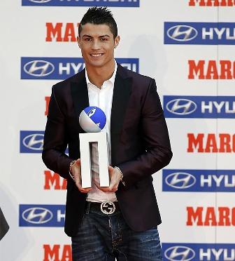 cristiano ronaldo mejor jugador de la liga 2011-2012
