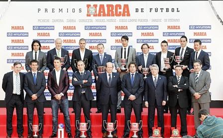 Cristiano Ronaldo el mejor jugador de la Liga BBVA 2011-2012