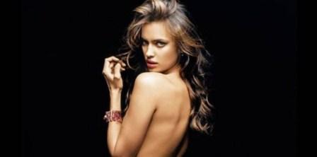 Irina Shayk, novia de Cristiano Ronaldo posando desnuda