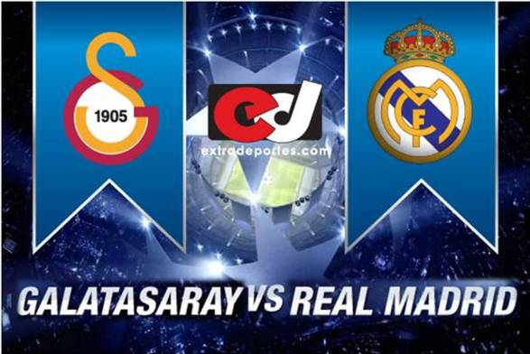 Galatasaray vs Real Madrid 2013: Horarios y Alineaciones