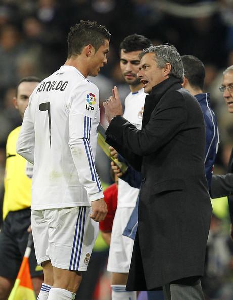 Cristiano Ronaldo vs Mourinho