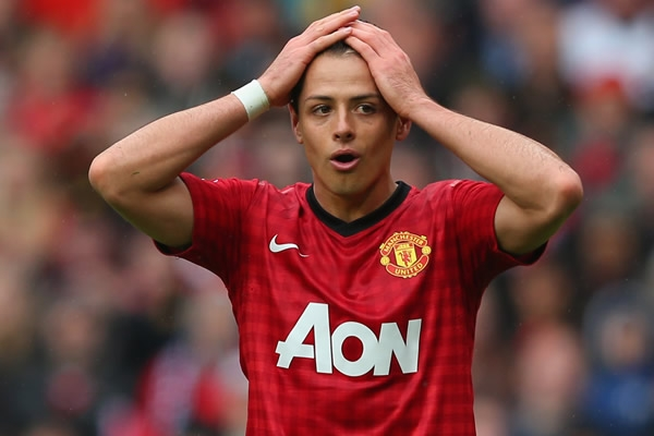 Chicharito Hernandez Manchester United