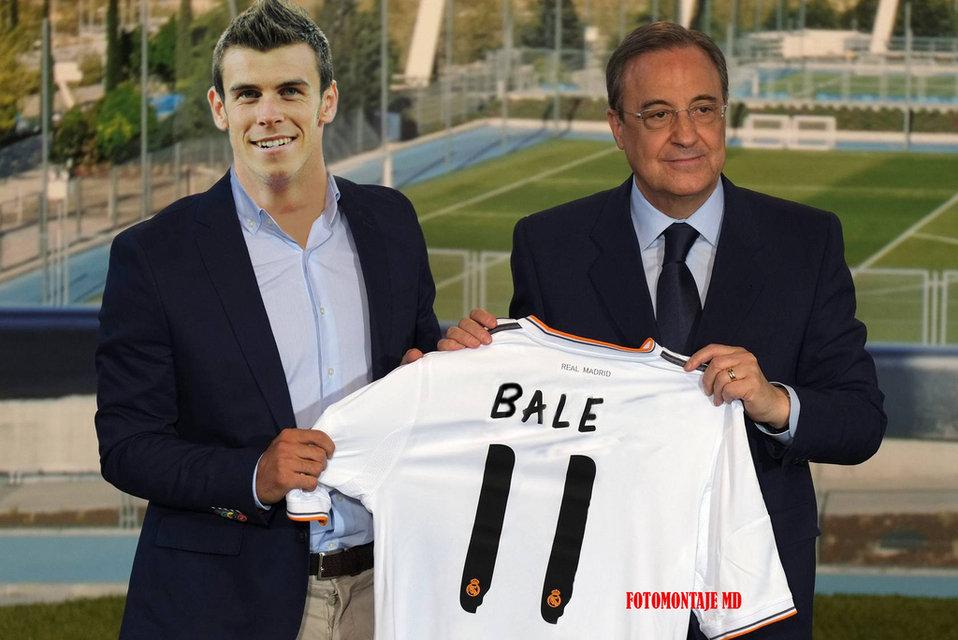 El Real Madrid prepara la camiseta 11 para Gareth Bale