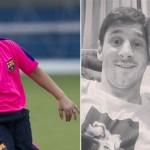 Sobrino de Lionel Messi también deslumbra con su juego en el Barcelona