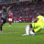 Ayew del Olympique de Marsella marca de rabona el Gol del año