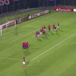El peor tiro libre de la historia del Fútbol a cargo de Julio Dos Santos