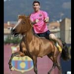 Salto de Lionel Messi en el Barcelona genera divertidos memes en la Red