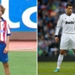 Giuliano, el hijo de Simeone practica a lo Cristiano Ronaldo en el Atlético