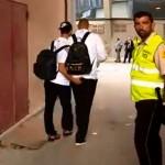 Isco le da un cariñoso toque a Karim Benzema (Fotos y Videos)