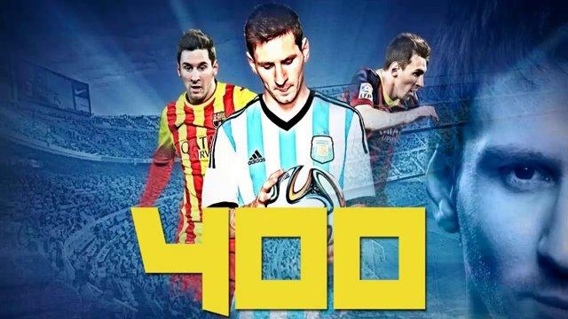 Los 401 goles de Lionel Messi en su carrera en un video imperdible
