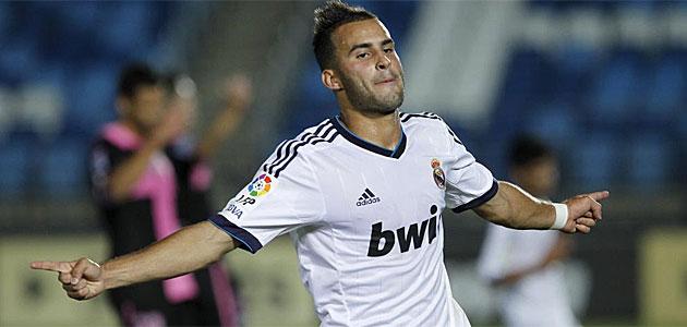 Jese Rodriguez en el Real Madrid