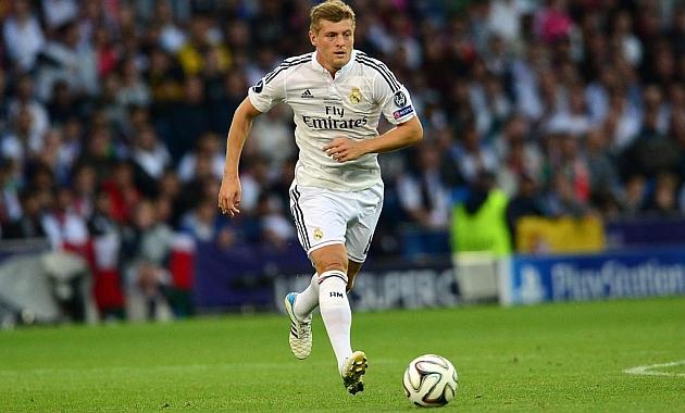 Toni Kroos en el Real Madrid