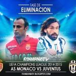 Juventus vs Mónaco 2015: Cuartos de Final de la Champions (Partido de IDA)