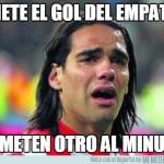 Radamel Falcao hizo su primer gol en el Chelsea de Mourinho