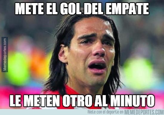 Falcao Gol Chelsea