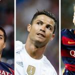 Los diez mejores futbolistas de FIFA16