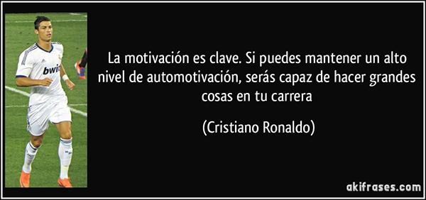 Sin duda, Cristiano Ronaldo sería el mejor coach que podrías echarte a la cara.